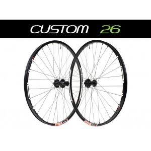 """Custom Handbuilt MTB 26"""" Wheels"""