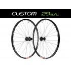 """Custom Handbuilt MTB 29"""" Straightpull Wheels"""