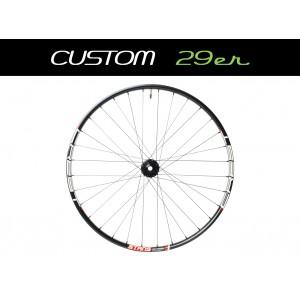 """Custom Handbuilt MTB Front 29"""" Straightpull Wheel"""