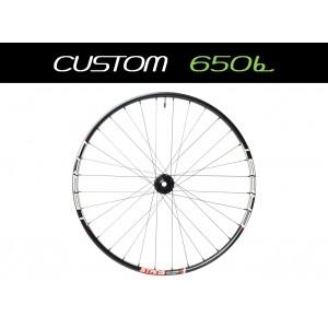 """Custom Handbuilt MTB Front 27,5"""" (650b) Straightpull Wheel"""